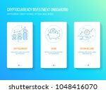 bitcoin  blockchain ... | Shutterstock .eps vector #1048416070