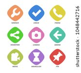 basic design icons set. simple...