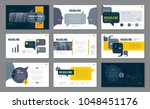 abstract presentation templates ... | Shutterstock .eps vector #1048451176