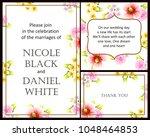 vintage delicate invitation...   Shutterstock . vector #1048464853