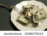 household budget   money for...   Shutterstock . vector #1048470424