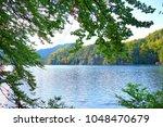 lake near the neuschwainstein   Shutterstock . vector #1048470679