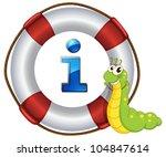 illustration of a cartoon...   Shutterstock .eps vector #104847614
