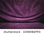 purple fabric texture... | Shutterstock . vector #1048486993
