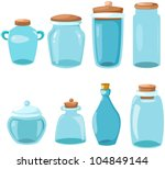 illustration of isolated set of ... | Shutterstock .eps vector #104849144