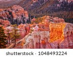bryce canyon from the fairyland ... | Shutterstock . vector #1048493224
