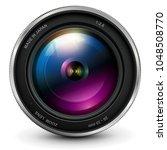 camera photo lens  vector...   Shutterstock .eps vector #1048508770