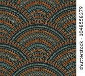vector abstract seamless... | Shutterstock .eps vector #1048558379