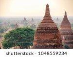 temples of bagan  myanmar | Shutterstock . vector #1048559234