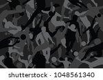 vector background of seamless... | Shutterstock .eps vector #1048561340