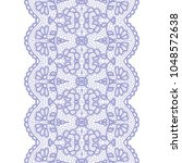 gentle lacy vintage elegant... | Shutterstock .eps vector #1048572638
