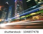 modern landmark building... | Shutterstock . vector #104857478