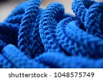 unusual blue background of a...   Shutterstock . vector #1048575749