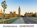 big ben in london at sunrise | Shutterstock . vector #1048596509