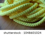 nylon rope colorful yellow... | Shutterstock . vector #1048601024