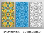colorful  black and white... | Shutterstock .eps vector #1048608860