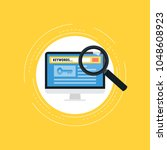 keywording  seo keywording...   Shutterstock .eps vector #1048608923