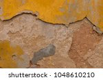close up view of an old texture ... | Shutterstock . vector #1048610210