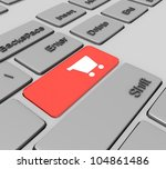 3d e commerce concept | Shutterstock . vector #104861486