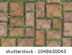 vector seamless texture brown... | Shutterstock .eps vector #1048630043