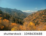 panoramic view of fall colors...   Shutterstock . vector #1048630688