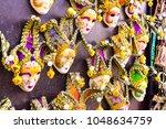 venice  italy   feb 08  2018 ... | Shutterstock . vector #1048634759