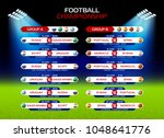 football championship match... | Shutterstock .eps vector #1048641776