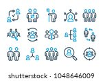 team and leadership related...   Shutterstock .eps vector #1048646009