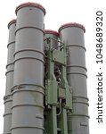 Small photo of Russian missile systems S-300 against the white background