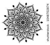 mandalas for coloring book....   Shutterstock .eps vector #1048702874