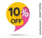 special offer sale  vector... | Shutterstock .eps vector #1048712096