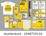 corporate identity of the... | Shutterstock .eps vector #1048719116