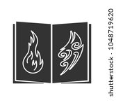 tattoo images catalog glyph... | Shutterstock .eps vector #1048719620