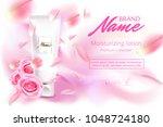 design cosmetics product... | Shutterstock .eps vector #1048724180