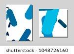 light bluevector pattern for... | Shutterstock .eps vector #1048726160