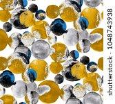 watercolor seamless pattern...   Shutterstock . vector #1048743938