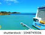 st johns  antigua   march 2nd... | Shutterstock . vector #1048745036