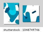 light bluevector layout for... | Shutterstock .eps vector #1048749746