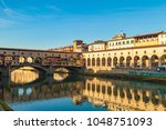 Arno River  Houses And Old...