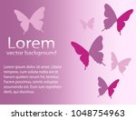 abstract background with pink...   Shutterstock .eps vector #1048754963