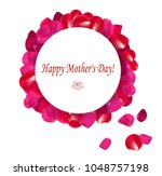 gift card  happy mother's day | Shutterstock .eps vector #1048757198