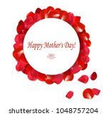 gift card  happy mother's day | Shutterstock .eps vector #1048757204
