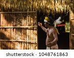 manaus  amazon   brazil  ... | Shutterstock . vector #1048761863