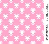 cute seamless vector pattern... | Shutterstock .eps vector #1048782563