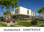 3d rendering of modern cozy... | Shutterstock . vector #1048792919