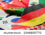 flags of all nations of the... | Shutterstock . vector #1048800770