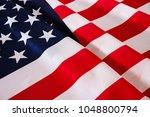 united states of america flag.... | Shutterstock . vector #1048800794