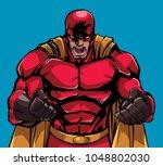 illustration of raging... | Shutterstock .eps vector #1048802030