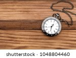 Pocket Watch On The Table. Top...