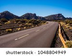 nice yellow middle line road on ... | Shutterstock . vector #1048804949